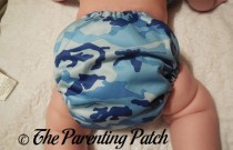 Blue Camo Winning Colors Baby All-in-One: Daily Diaper