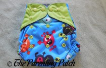 ecoAble Pocket Diaper with Bamboo Insert Review