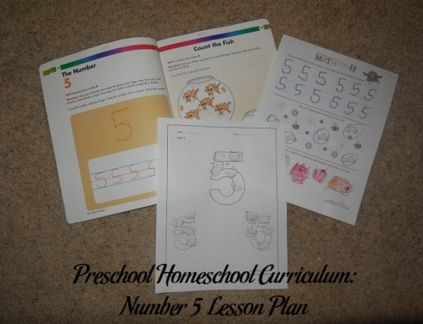 Number 5 Preschool Activities