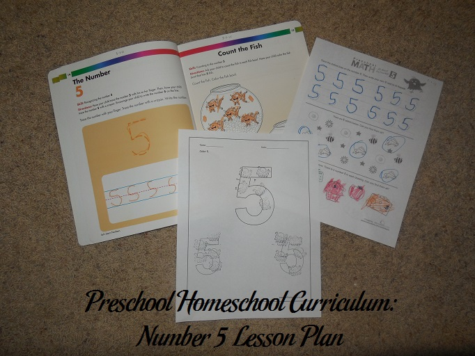 Number 5 Preschool Activities