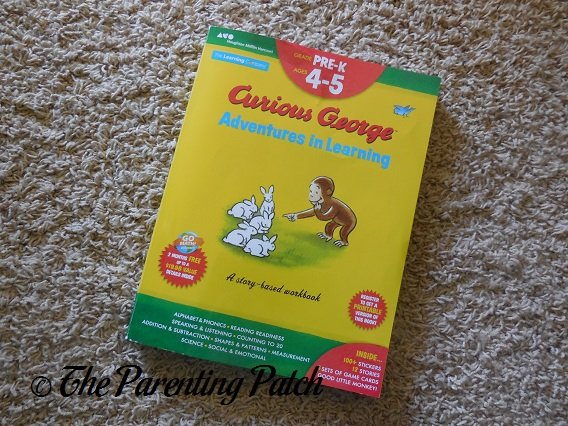 Cover of 'Curious George Adventures in Learning, Pre-K'
