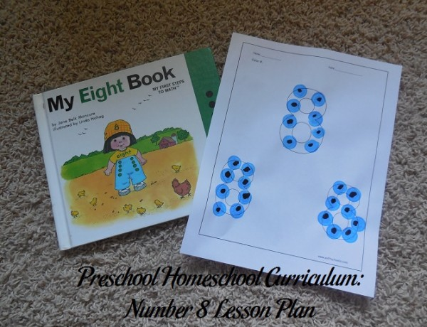 Number 8 Preschool Activities