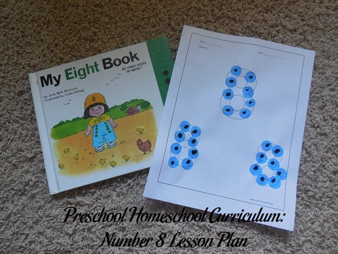Number 8 Preschool Activities
