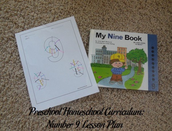 Number 9 Preschool Activities