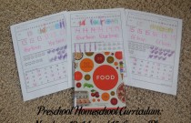 Preschool Homeschool Curriculum: Numbers 13, 14, and 15 Lesson Plan