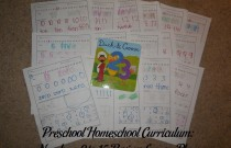 Preschool Homeschool Curriculum: Numbers 0 to 15 Review Lesson Plan