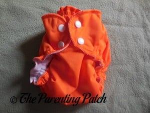 Orange You Glad AppleCheeks Envelope Diaper Cover 1