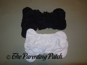Size 1 and Size 2 AppleCheeks Envelope Diaper Covers