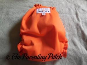 Back of Tricks or Cheeks AppleCheeks Envelope Diaper Cover