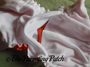 Pocket of Orange You Glad AppleCheeks Envelope Diaper Cover