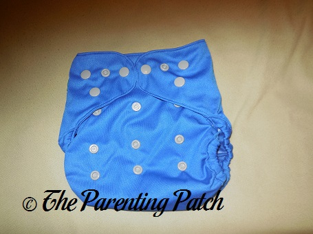 Front of Diaper Junction One-Size Diaper Cover on Large Setting