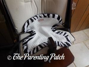 Zebra Smart Bottoms Seat Saver on High Chair