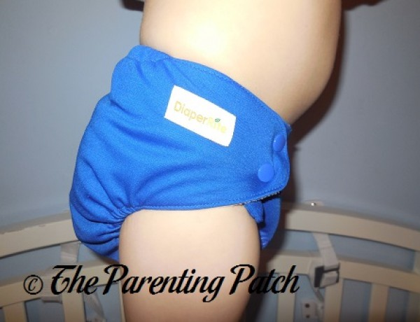 Cobalt Diaper Rite One-Size All-in-One 12