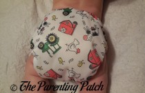 Farm ecoAble Bamboo All-in-One with Pocket: Daily Diaper