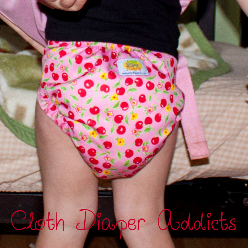 Very Cherry AMP Cloth Diaper 5