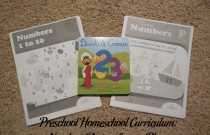 Preschool Homeschool Curriculum: Numbers Review Lesson Plan