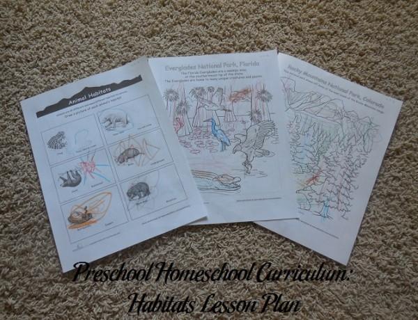 Habitats Preschool Activities
