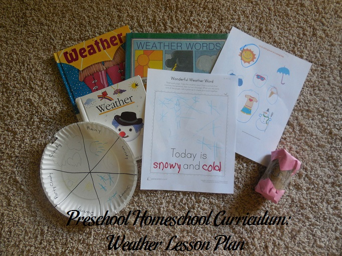 Weather Preschool Activities