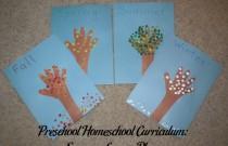 Preschool Homeschool Curriculum: Seasons Lesson Plan