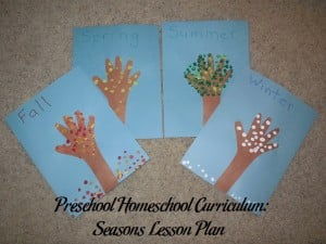 Seasons Preschool Activities