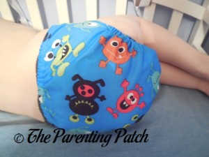 Monsters ecoAble Pocket Diaper with Bamboo Insert 10