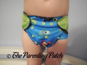 Monsters ecoAble Pocket Diaper with Bamboo Insert 13