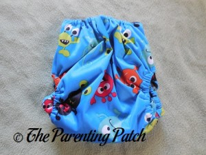 Monsters ecoAble Pocket Diaper with Bamboo Insert 2