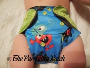 Monsters ecoAble Pocket Diaper with Bamboo Insert 4