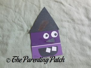Witch Paint Chip Craft