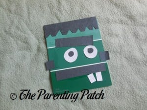 Monster Paint Chip Craft