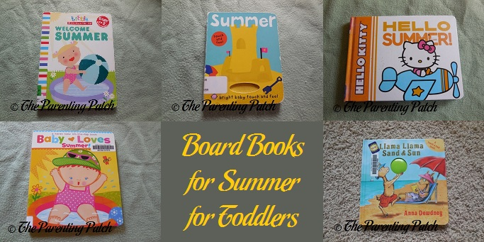 Board Books for Summer for Toddlers
