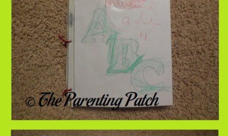 'My Alphabet Book' Craft
