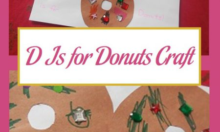 D Is for Donuts Craft