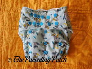 Front of Sweet Pea Diapers Bamboo All-in-One