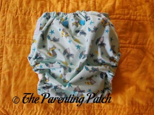 Back of Sweet Pea Diapers Bamboo All-in-One