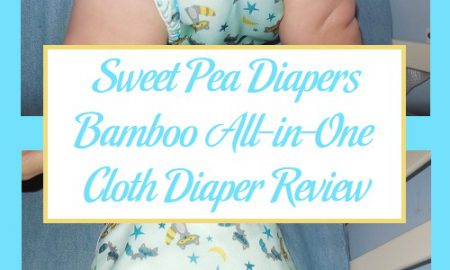Sweet Pea Diapers Bamboo All-in-One Cloth Diaper Review