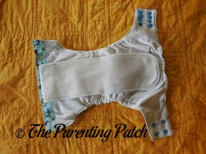 Interior of Sweet Pea Diapers Bamboo All-in-One