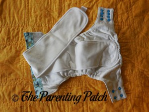 Soakers of Sweet Pea Diapers Bamboo All-in-One 1