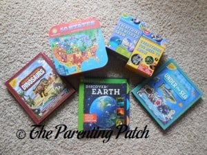 Smithsonian Interactive Books and Activity Kits