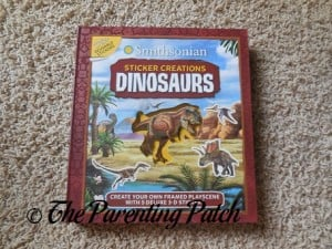 Smithsonian Sticker Creations: Dinosaurs 1
