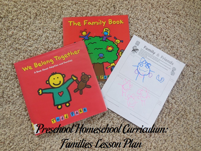 Families Preschool Activities
