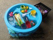 Floating and Sinking Preschool Activities