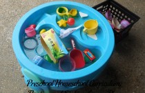 Preschool Homeschool Curriculum: Floating and Sinking Lesson Plan