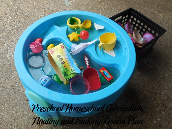 Floating and Sinking Preschool Activities