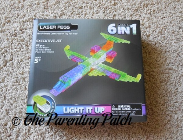 Laser Pegs 6 in 1 Zippy Do Planes Kit