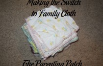 Making the Switch to Family Cloth: Frugal Friday