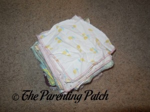 Pile of Family Cloth