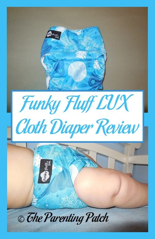 Funky Fluff LUX Cloth Diaper Review