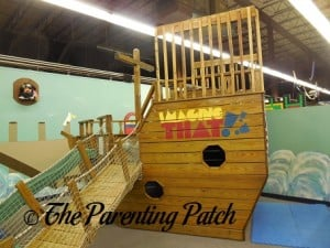 Pirate Ship in Imagine That!!! A New Jersey Children's Museum