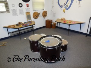 Music Room in Imagine That!!! A New Jersey Children's Museum